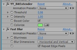 Colorize parameter