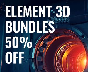 Element 3D Bundles 50% Off Sale
