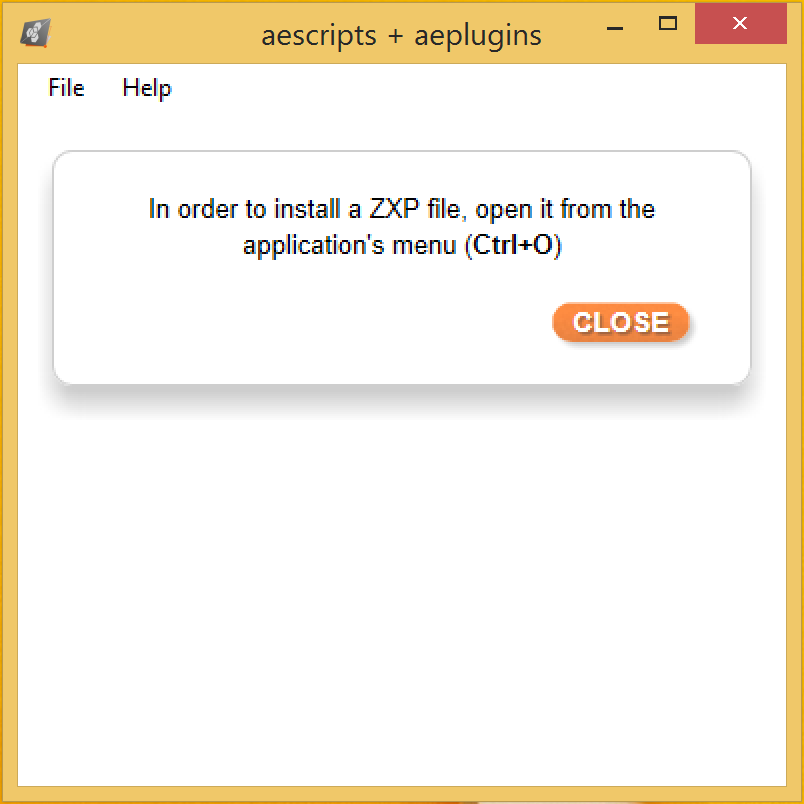 aescripts + aeplugins ZXP Installer