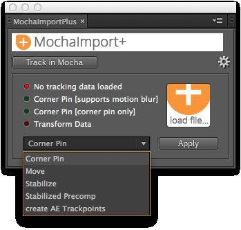 MochaImport+ User Interface