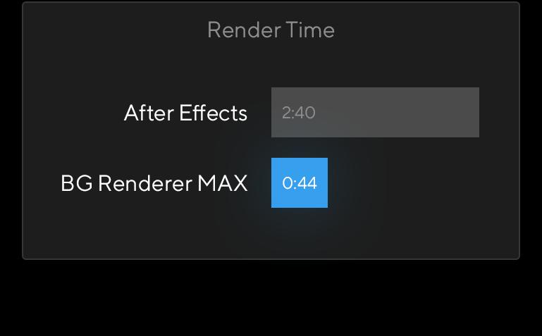 BG Renderer MAX